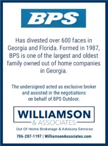 BPS divests outdoor advertising assets