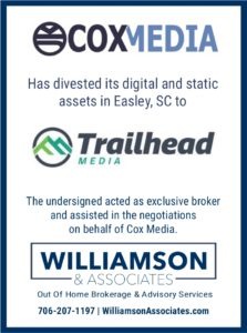 Cox Media Divests Outdoor Assets to Trailhead Media