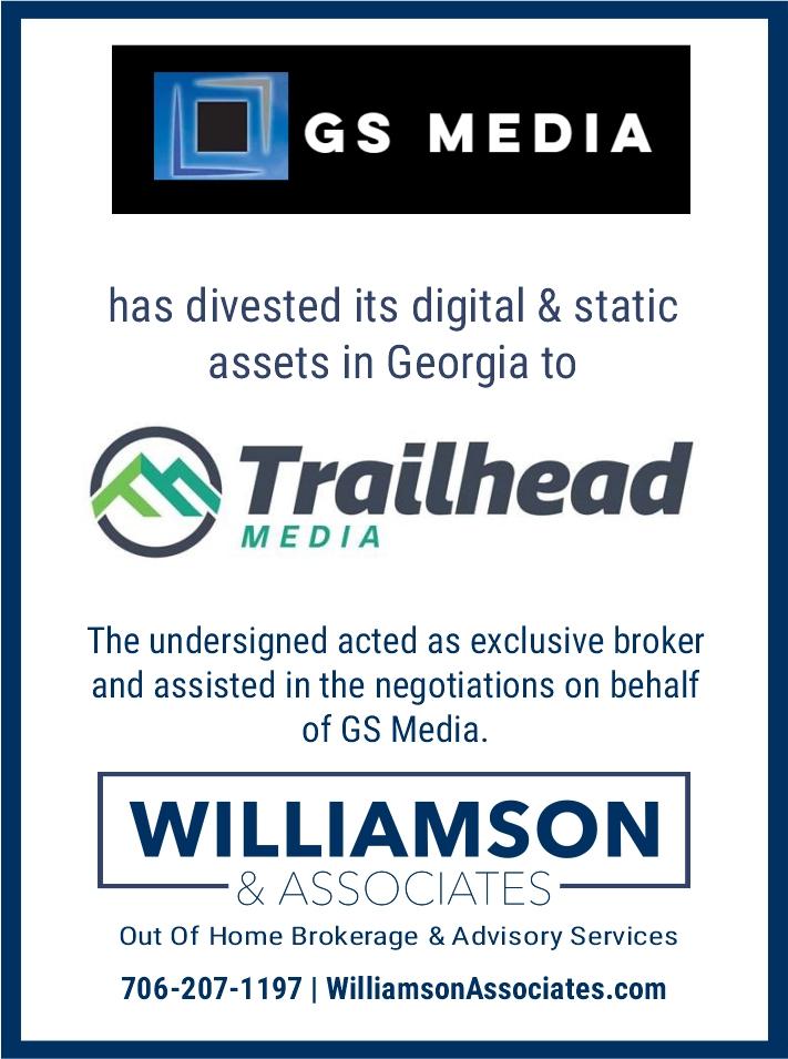 GS Media divests GA OOH assets to Trailhead Media
