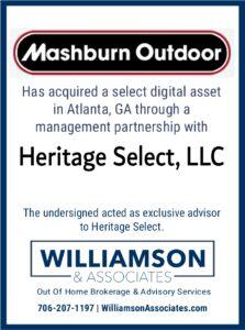 Mashburn Outdoor management partnership acquistion of Heritage Select
