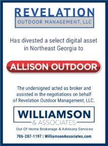 Revelation digital asset divested to Allison Outdoor
