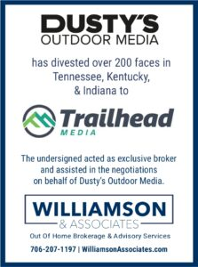 Dusty's Outdoor Media divests Tennessee, Kentucky and Alabama assets to Trailhead Media